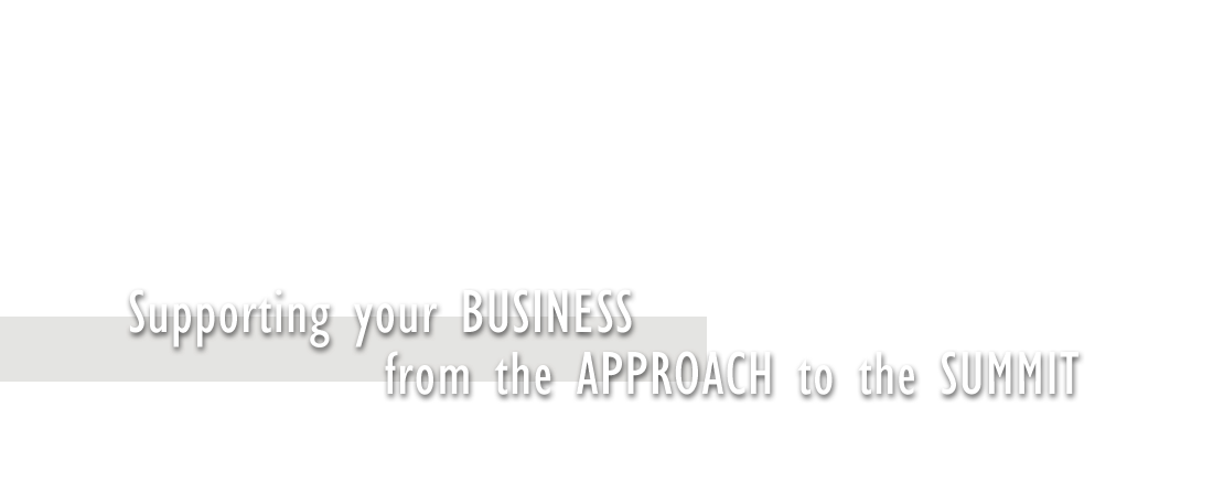 Supporting your business from approach to summit